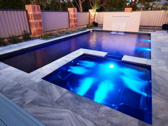 Custom Modern Pool Spa