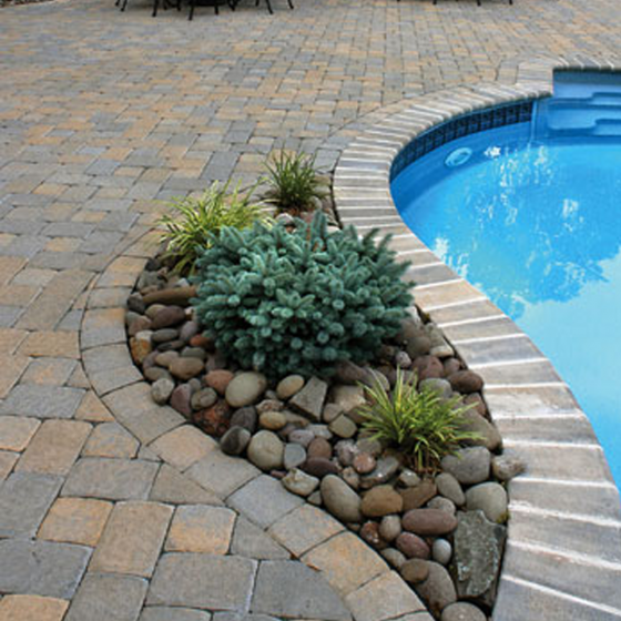 Concrete Pool Deck Pavers & Coping