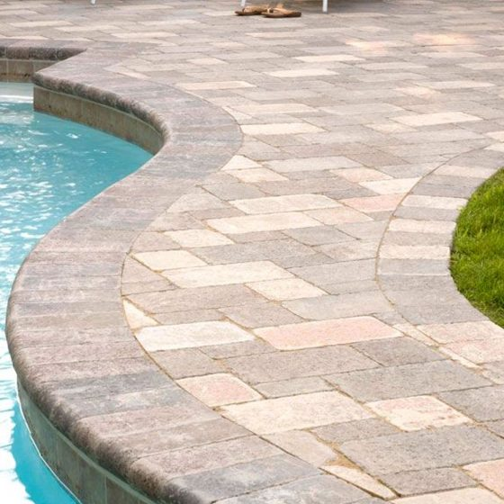Stone Pool Deck Pavers & Coping