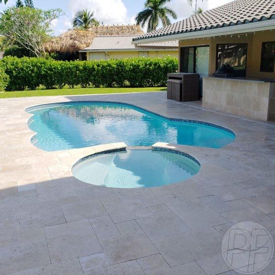 After Pool Deck Remodeling