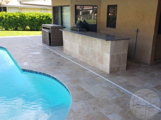 Pool Outdoor Kitchen-after