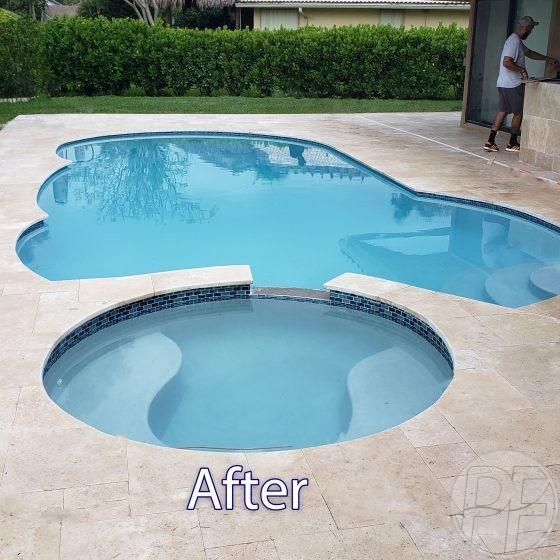 Pool & Deck Remodeling -After
