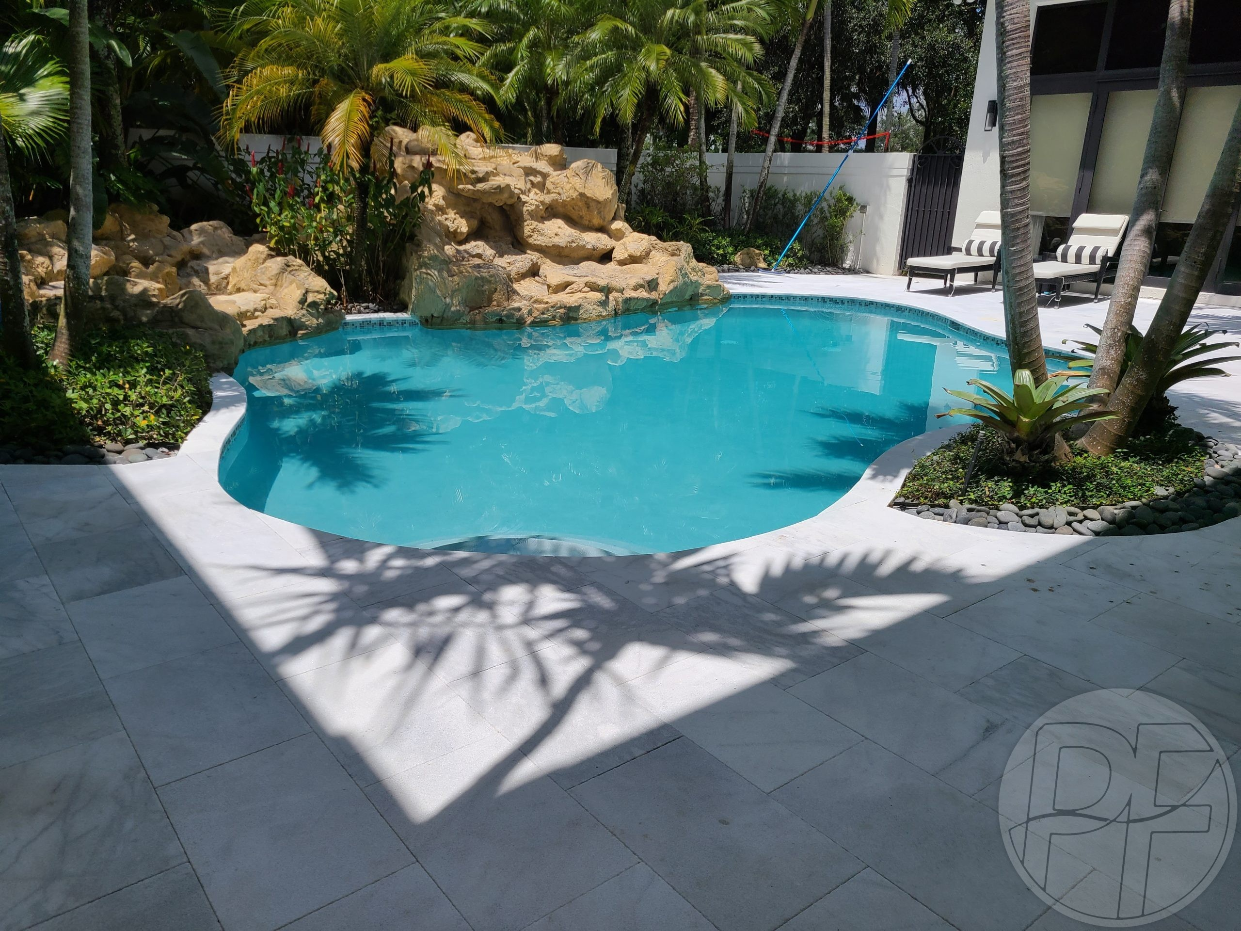 Pool & Deck Remodeling - Tropical Oasis - Pools Finishing Inc.