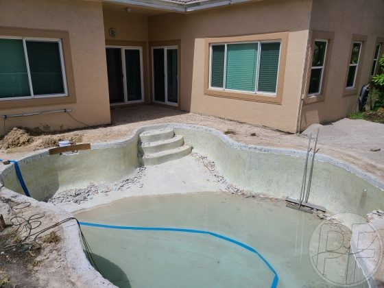 Pool & Deck Remodel - Demo is Done - Pools Finishing Inc