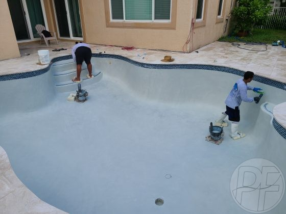 Pool & Deck Remodel Finishing Plaster Resurfacing - Pools Finishing Inc