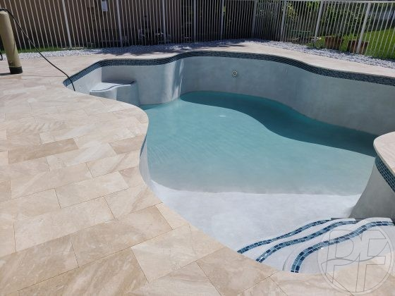 Pool & Deck Remodel Filling - Pools Finishing Inc