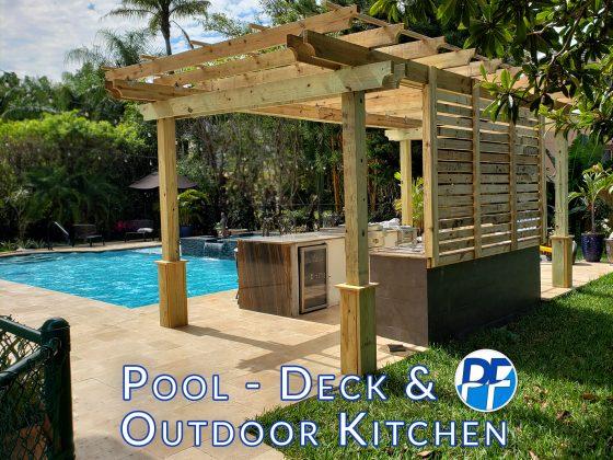 Complete Backyard Renovation - Outdoor Kitchen